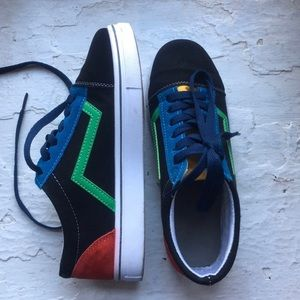 SHEIN Shoes - Knockoff Primary Colorblocked Vans